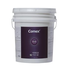 Comex White (White Base) Flat Latex Interior Paint (Actual Net Contents: 620-fl oz)