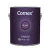Comex White (White Base) Flat Latex Interior Paint (Actual Net Contents: 124-fl oz)