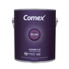 Comex White (Medium Base) Flat Latex Interior Paint (Actual Net Contents: 124-fl oz)