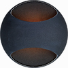 Pyramid Creations 5-in W Wink 1-Light Black Arm Wall Sconce