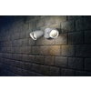 Utilitech Pro 4.13-in 2-Head LED White Switch-Controlled Flood Light