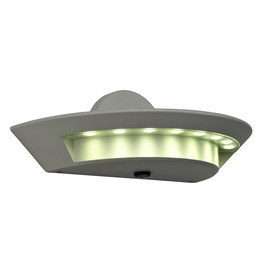 Utilitech 24-Watt White Dusk-to-Dawn Security Light