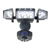 Utilitech 360-Degree 3-Head LED Motion-Activated Flood Light
