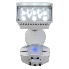 Utilitech 360-Degree 1-Head LED Motion-Activated Flood Light