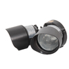 Utilitech 4.125-in 2-Head Halogen Aged Bronze Switch-Controlled Flood Light