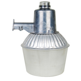 Shop Utilitech 100 Watt Silver Metal Halide Dusk To Dawn