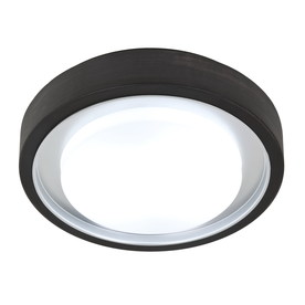 Style Selections 11.81-in W Oil-Rubbed Bronze Ceiling Flush Mount Light