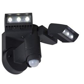 Utilitech 240-Degree 2-Head LED Motion-Activated Flood Light