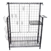 Blue Hawk 54-in H x 15-in W x 47.75-in D 2-Tier Steel Freestanding Shelving Unit