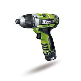 "ROCKWELL Number Of Batteries Included 12-Volt 1/4"" Cordless 12V Lithiumtech 3Rill 3-In-1 Drill/Driver"