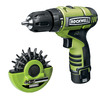 "ROCKWELL Number Of Batteries Included 12-Volt 3/8"" Cordless 12V Lithiumtech Drill W 2 Batteries"