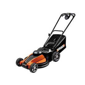 WORX IntelliCut 24-Volt 17-in Cordless Electric Push Lawn Mower