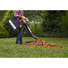 WORX Trivac 12-Amp 350-CFM 210-MPH Light-Duty Corded Electric Leaf Blower with Vacuum Kit