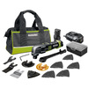 ROCKWELL 33-Piece Cordless12-Volt Oscillating Tool Kit