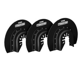ROCKWELL Sonicrafter 3-Pack 3-1/8-in High Speed Steel Semicircle Saw Blade