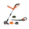 WORX 24-Volt 10-in Straight Cordless String Trimmer Edger Capable with Bonus Blower/Sweeper