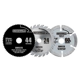 ROCKWELL Versacut 3-Piece Circular Saw Blade Set