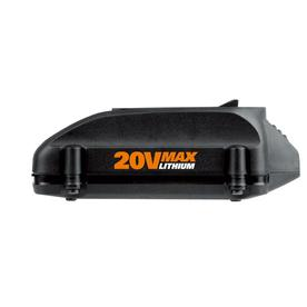WORX 20-Volt Li-ion Sliding Battery Pack