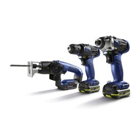 Kobalt 3-Tool 12-Volt Max Lithium Ion (Li-ion) Cordless Combo Kit with Soft Case