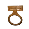 Project Source Colonial Oak Wall-Mount Towel Ring