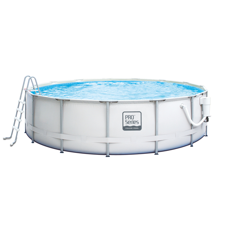 Shop Summer Escapes Proseries 16 Ft X 16 Ft X 48 In Round Above Ground Pool At