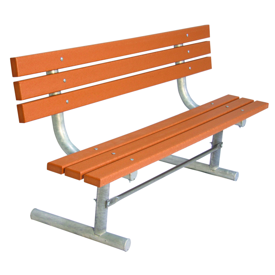 Shop Ultra Play 72 In L Ultrasite Recycled Plastic Bench At