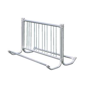 Ultra Play 60-in L x 36-in D x 37-in H 10-Bike Galvanized Steel Bike Rack