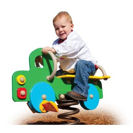 Ultra Play Multi-Color/HDPE Plastic Bouncer