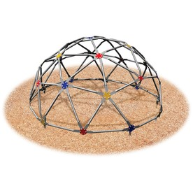 Ultra Play Multi-Color/Galvanized Steel GeoDome