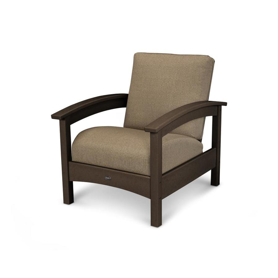 Shop Trex Outdoor Furniture Rockport Vintage Lantern Plastic Cushioned Patio Chair At