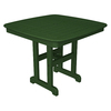 Trex Outdoor Furniture Yacht Club 36.75-in x 36.75-in Plastic Square Patio Dining Table