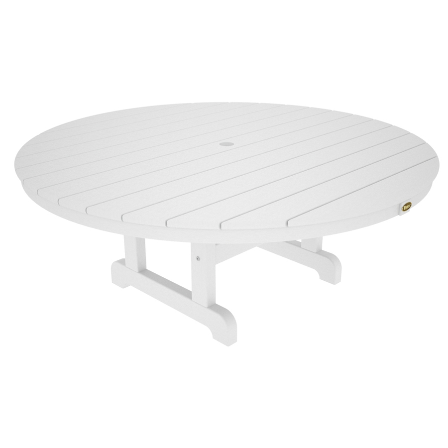Shop Trex Outdoor Furniture Cape Cod Plastic Round Patio