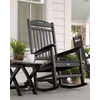 Trex Outdoor Furniture Yacht Club Charcoal Black Outdoor Rocking Chair