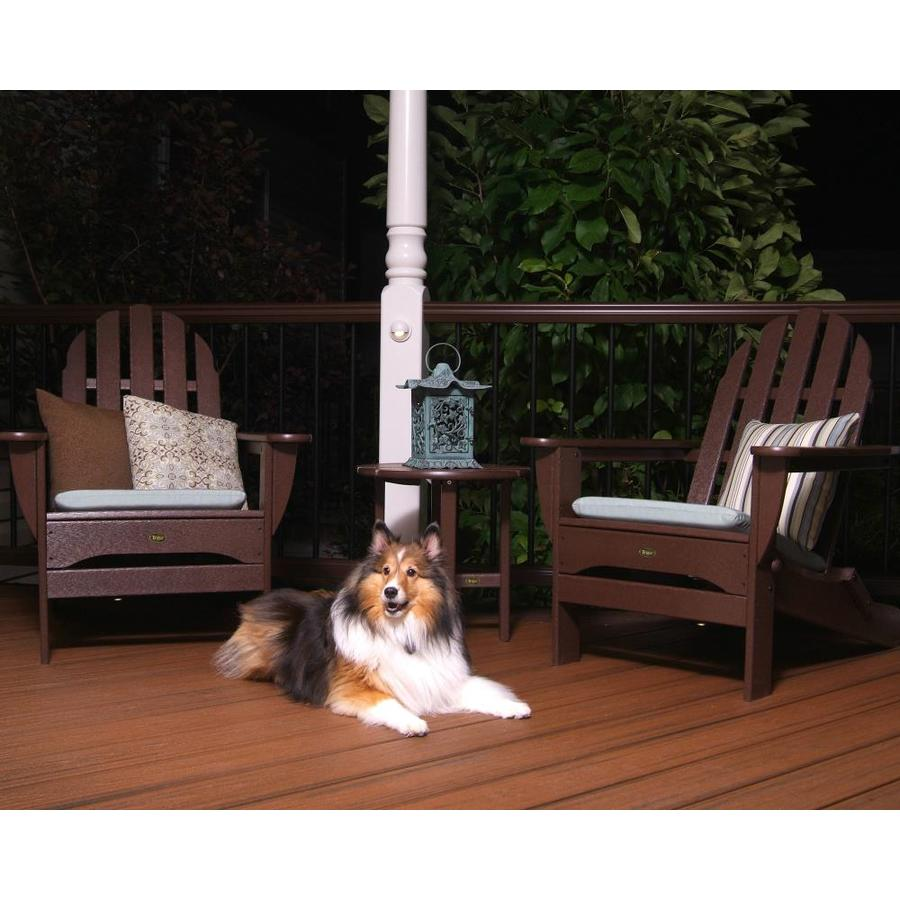 ... Furniture Cape Cod Vintage Lantern Plastic Adirondack Chair at Lowes
