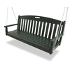 Trex Outdoor Furniture 3-Seat Plastic Casual Rainforest Canopy Swing