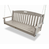 Trex Outdoor Furniture 3-Seat Plastic Casual Sand Castle Swing