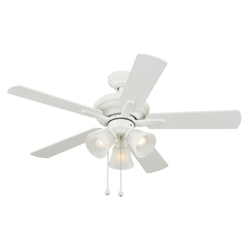 Harbor Breeze 42-in Downrod Mount Indoor Ceiling Fan with Light Kit