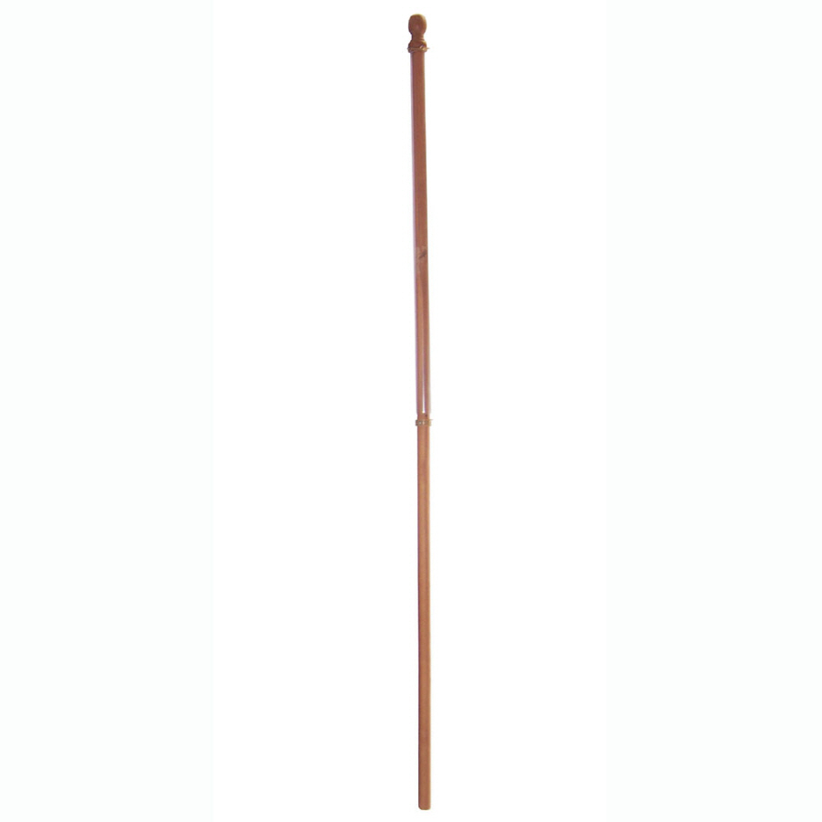 Shop Wooden Flag Pole at Lowes.com