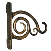6.125-in Scroll Black with Bronze Plant Hook