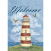 Rain or Shine 18-in x 12-1/2-in Decorative Flag Decorative Banner