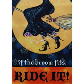 Rain or Shine 18-in x 12.5-in Halloween Decorative Banner 11-1643-126
