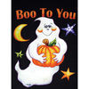 Rain or Shine 40-in x 28-in Halloween Decorative Banner