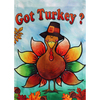 Rain or Shine 18-in x 12.5-in Thanksgiving Decorative Banner