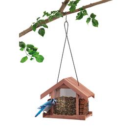 Garden Treasures Wood Hopper Bird Feeder