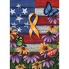 Rain or Shine 40-in x 28-in Remember Flag