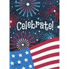 Rain or Shine 28-ft W x 40-ft H 4th Of July Flag