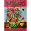 Rain or Shine 2.33-ft W x 3.33-ft H Floral House Flag