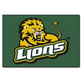 FANMATS Southeastern Louisiana Multicolor Rectangular Indoor Machine-Made Sports Throw Rug (Common: 1-1/2 x 2-1/2; Actual: 19-in W x 30-in L x 0-ft Dia)