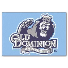 FANMATS Old Dominion University Multicolor Rectangular Indoor Machine-Made Sports Throw Rug (Common: 1-1/2 x 2-1/2; Actual: 19-in W x 30-in L x 0-ft Dia)