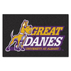 FANMATS 1-ft 7-in x 2-ft 6-in Rectangular NCAA SUNY-Albany Great Danes Accent Rug